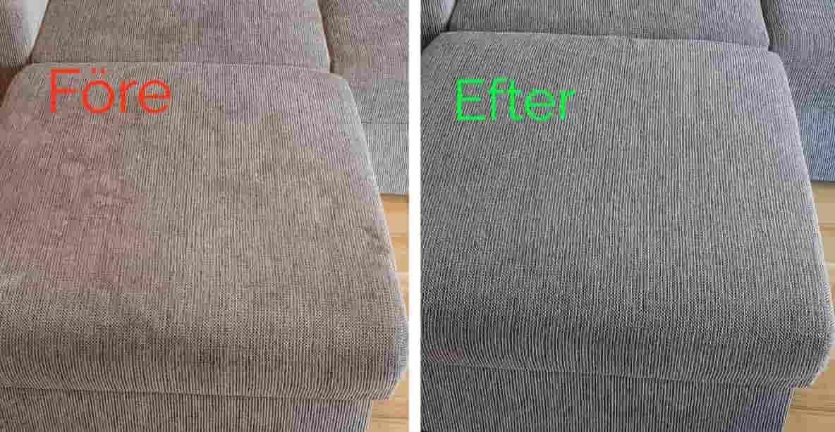 möbeltvätt soffa
